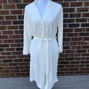 Aegean Apparel Robe Size Small with belt